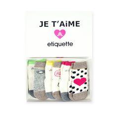 Etiquette +  ATSUYO ET AKiKO Infant Sock Set
