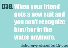 Especially during the holidays when everyone is getting new practice suits