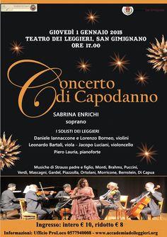 Concerto di Capodanno a San Gimignano   #sangimignano