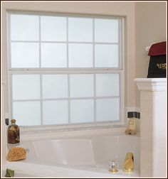 Need Some Privacy? Frosted Privacy Window Film may need this for window next to front door.