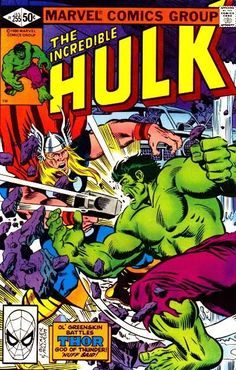 Incredible Hulk # 255 by Rich Buckler & Al Milgrom