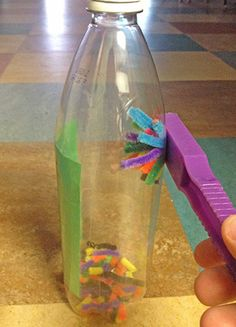 Introduce magnetism to young learners with this magnetic manipulation activity! http://bit.ly/1t3e0Zt