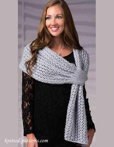Stole knitting pattern free