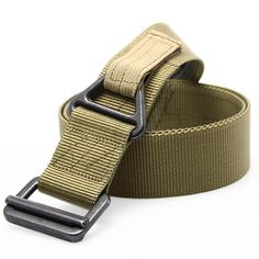 Adjustable Tactical Belt For Men Nylon Webbing Military Belt Outdoor Essentials For Hiking Hunting Combat Service Multi-function Waist Belt - 3 Colors Blackhawk Tactical, Tactical Belt, Survival Belt, Tactical Survival, Military Belt, Camping Outfits, Camping Clothing, Casual Belt, Tungsten Carbide Rings