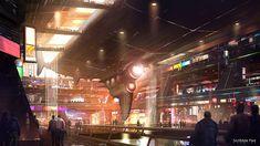 Theme Park Design , James Paick on ArtStation at https://www.artstation.com/artwork/rl9GG