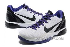 low priced 95207 23259 Nike Zoom Kobe Vi Mens White Black Purple
