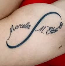 Imagem relacionada Tatoos, Infinity Tattoo With Names, Tattoo Hand, Tattoos, Weddings, Tattos