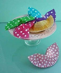 DIY crafts fortune cookies