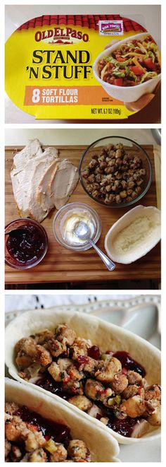 #Thanksgiving #Leftovers: Turkey, Cranberry & Stuffing Pocket #HowTo