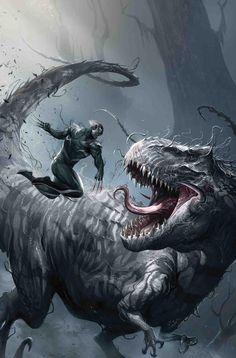 Venom Wolverine Symbiote Wolverine Venom T-Rex