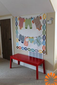 First Ever Custom Personalized Crib Quilt Gender Neutral Gender Reveal Shower Birth Announcement Baby Clothes Theme Custom Nursery Bedding P Cute Quilts, Baby Quilts, Children's Quilts, Shirt Quilts, Baby Memory Quilt, Memory Quilts, Quilting Projects, Diy Projects, Baby Clothes Quilt