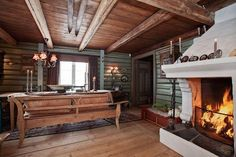House from 1850, near Geilo / Norway