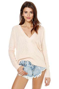 Boys Club Sweater - Blush