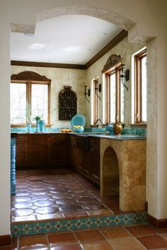 Loving this whole kitchen...