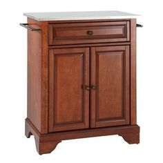 [ Solid Black Granite Top Portable Kitchen Cart Island Classic Cherry Crosley Furniture Stainless Steel Optional ] - Best Free Home Design Idea & Inspiration Portable Kitchen Island, Kitchen Island Cart, Kitchen Islands, Kitchen Carts, Kitchen Ideas, Kitchen Tables, Kitchen Tips, Kitchen Decor, Space Kitchen