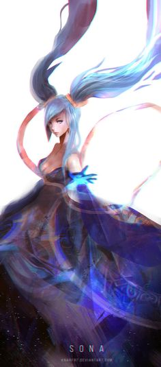 Sona - League of Legends by Knarf97 on DeviantArt