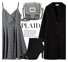 """""""Check It: Plaid"""" by fattie-zara ❤ liked on Polyvore"""
