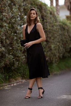 Celine dress, Givenchy heels and Saint Laurent bag The story behind the acquisition of this dress...