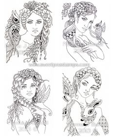 New Fairy-Tangles™ Stamps Coming to Sweet Pea Stamps