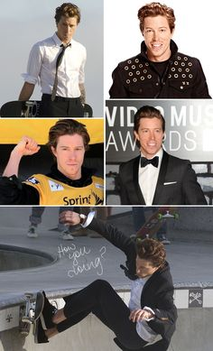 Shaun white.. I love him so much and I'm so glad i got to meet him he really is a sweet heart