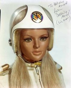 Destiny Angel from Captain Scarlet Science Fiction, Joe 90, Terry Pratchett Discworld, Sf Movies, Thunderbirds Are Go, Sci Fi Tv, Kids Tv, My Childhood Memories, Classic Tv