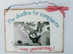 Geschenk Spruch Humor von Un-Art-Tick auf DaWanda.com