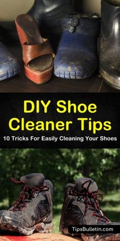 Sick & tired of living in a messy house, but hate the thought of cleaning? Use these 10 hacks to learn how to clean every room in your house FAST. Shoe Cleaner Diy, Suede Shoe Cleaner, Diy Leather Shoe Cleaner, Cleaners Homemade, Diy Cleaners, Household Cleaners, Cleaning Leather Shoes, Cleaning Suede, Green Cleaning
