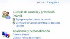 Si tienes hijos y deseas crear un ambiente más seguro en la red para ellos, utiliza de manera sencilla y segura el Control Parental.