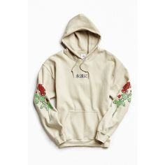 Shop Floral Days Hoodie Sweatshirt at Urban Outfitters today. We carry all the latest styles, colors and brands for you to choose from right here. Hoodie Sweatshirts, Pullover Hoodie, Hoody, Short Sleeve Hoodie, Embroidered Sweatshirts, Sweater Jacket, Ladies Dress Design, Shirt Designs, Street Wear