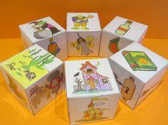 Cubos para cuentos 5th Grade Activities, English Activities, Activities For Kids, English Games, Story Cubes, Writing Art, Creative Writing, Elementary Spanish, Classroom Language