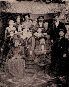 Foto de grupo, aprox. 1870.