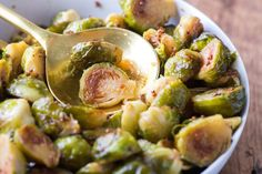 Recipe: Honey-Mustard Brussels Sprouts — Recipes from The Kitchn