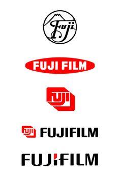 Fujifilm Logo Evolution