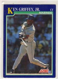 13 Best My Cards Images Baseball Cards Baseball Players Ken Griffey