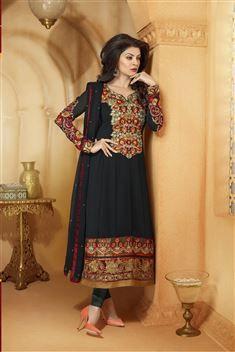 Designer Anarkali Party wear Salwar Suit