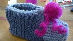 scarpina in lana