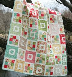 Shortcake Quilt in Strawberry Fields.  I actually have the pattern and the fabric, just need to get started!