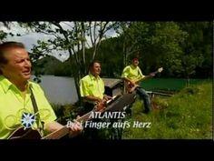 Atlantis - Drei Finger aufs Herz - Melodien der Berge - 2007 - YouTube Atlantis, Music Songs, Youtube, Finger, Album, German, Music, Songs, Mountains