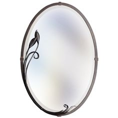 Hubbardton Forge Lighting Oval 22-Inch Mirror | 71-0014-05 | Destination Lighting