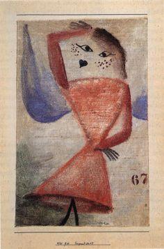 Paul Klee ~ Fragment Nr. 67 ~ 1930