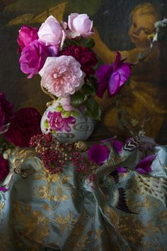 Floral eye candy for your walls from Prunella & Simon Griffiths