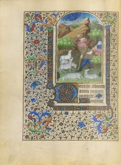 BOOK OF HOURS, USE OF PARIS, IN LATIN AND FRENCH, ILLUMINATED MANUSCRIPT ON VELLUM [NORTHERN FRANCE (DOUBTLESS PARIS), C.1440-