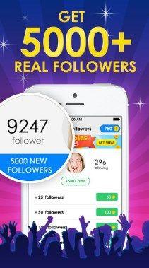 Instagram Follower Apk Free Followers On Instagram Instagram Hacks Followers Get Instagram Followers