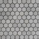 23mm Carrara Hexagonal Mosaics http://www.surfacegallery.com.au/tiles/mosaic-tiles/marble-mosaics #carraramosaics #hexagonalmosaics #bathroommosaics #mosaicfeature