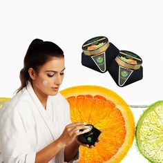 Refines And Smoothes Complexion By Removing Dead Skin. Deep Clean To Remove Dirt & Oil.  Effective, Yet Gentle Lemon Orange Face Scrub GoAyur. Contains Pure Natural Herbs & Essential Oils For Gentle Exfoliation Leaving Skin Smooth And Soft. #FaceScrub #Na