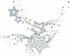 Iron On Rhinestone Crystal Transfer by Sues Sparklers