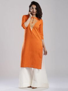 Anouk Orange Kurta