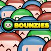 Bounzies - http://zoopgames.com/bounzies/ - Throw a ball in the game from the top. Use aiming skills and flippers to collect all smiley faces in a level. Move the mouse to aim and click to launch a ball. If a level contains flippers, click to make them move. Hit all sleepy smilies before you run out of balls.   - arcade, bounce, bouncy, flippers, pachinko, pinball, sleep, smiley, terry paton