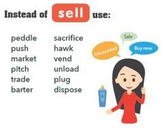 """Words related to """"sell"""""""