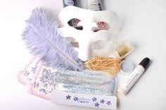 Návod na masky - škrabošky - materiál